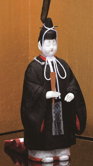 真多呂人形 東宮立雛(男雛)