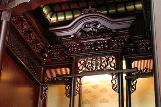 紫檀仏壇「鷹山」照明
