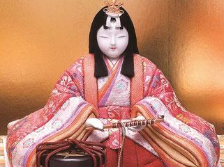 真多呂人形 吉野雛(女雛)