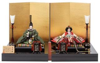優香作ひな人形「束帯雛オリジナルセット」