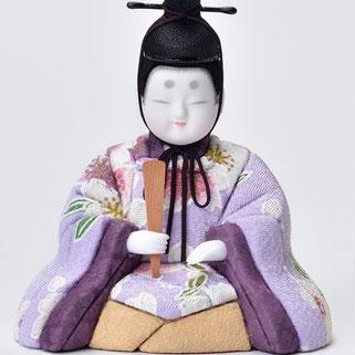 真多呂人形 東山雛5人飾り(男雛)