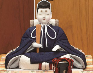 真多呂人形 秀明雛(男雛)