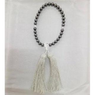 ネックレスを念珠に修理 片手・女性物