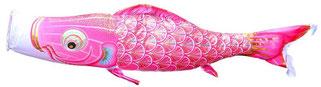 女の子用ピンク鯉「真・太陽」