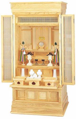 神徒壇と神具一式のお飾り見本