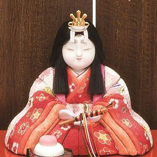 真多呂人形 東山雛5人飾り(女雛)