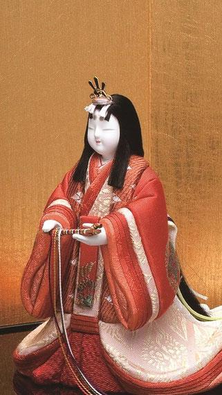 真多呂人形 東宮立雛(女雛)