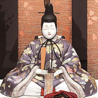 真多呂人形 高雄雛(男雛)