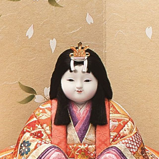 真多呂人形 瑞春雛(女雛)