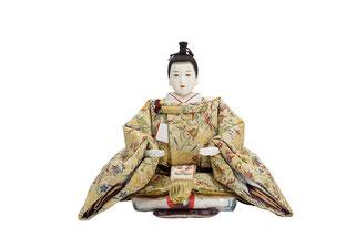 優香作「親王飾り」趣楽 男雛(京十三)