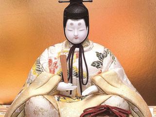 真多呂人形 吉野雛(男雛)