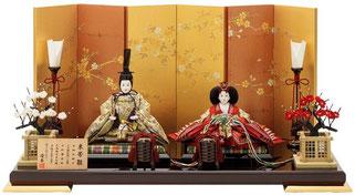優香作ひな人形「オリジナルセット」束帯雛
