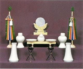 上置用の神徒壇と神具一式