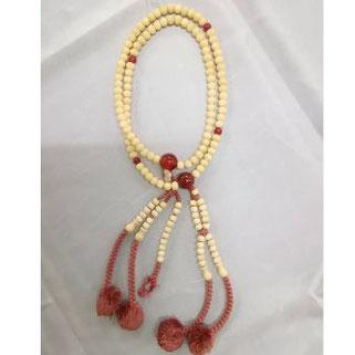 念珠(数珠)修理前 日蓮宗・女性物