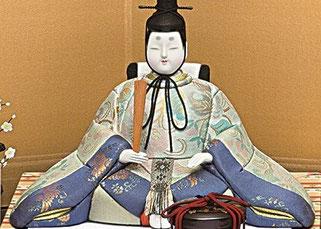 真多呂人形 皇華雛(男雛)