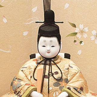 真多呂人形 瑞春雛(男雛)