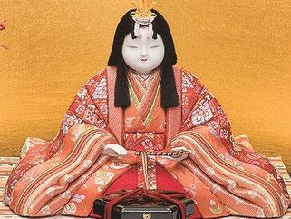 真多呂人形 新宮雛(女雛)