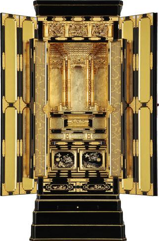 金仏壇の修理