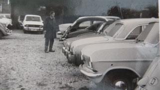 Gebrauchtwagen Ende der 60-iger