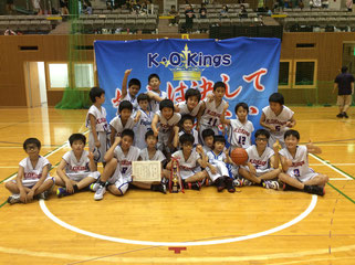 男子Bブロック優勝・K.O.Kings