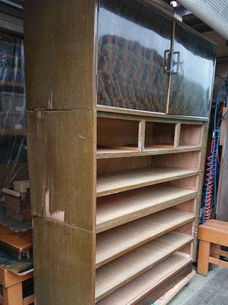 箪笥(たんす)側板修理