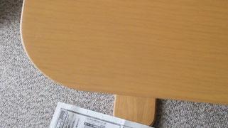 テーブル傷補修