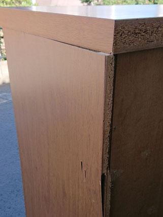 箪笥(たんす)側板取替