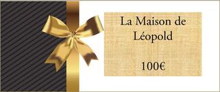 faites plaisir à vos proches en offrant un séjour vacances à la Maison de Léopold
