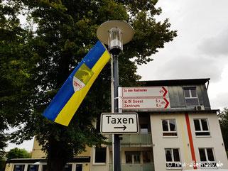 Schilder in Bad Sassendorf.