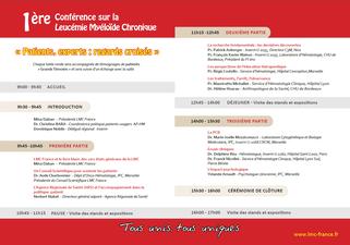 conference lmc france journee mondiale leucemie myeloide chronique world cml day 9/22 22/9 france timone marseille patient expert regards croisés