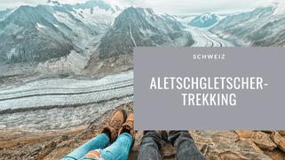 Aletschgletscher Trekking, aletschletscher, Aussicht, Wanderung