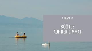 Schweiz, Böötle, Boot, Limmat, Zürich