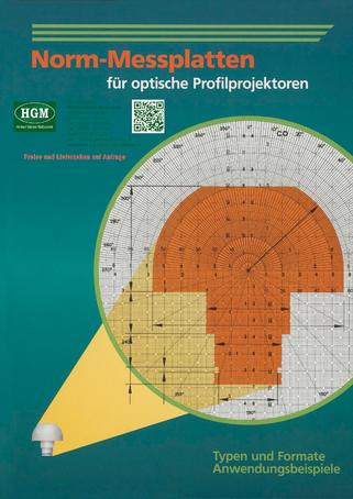 Norm-Messlatten für optische Profilprojektoren - Katalog