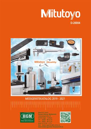 Mitutoyo - Messgeräte - Katalog 2019/2021