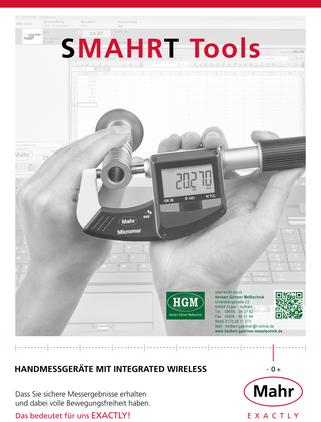 Mahr - SMAHRT Tools - Handmessgeräte mit Integrated Wireless