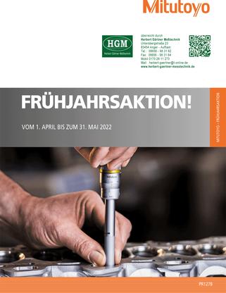 Mitutoyo Herbst-/Winter-Aktion 2020/2021 - Online-Blätter-Katalog