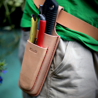 Niwaki Scherenholster aus Leder bei www.the-golden-rabbit.de