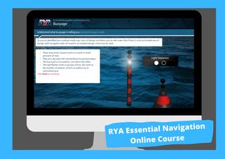 rya essential navigation and seamanship online course
