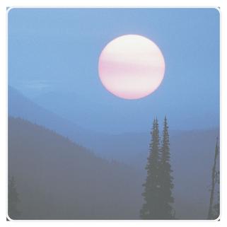 Foto schöner Mond zum Thema Edelstein Schmuck mit Mondstein