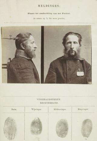 Signalementkaart Veenhuizen opname 07-08-1896