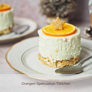 Orangen-Spekulatius-Törtchen