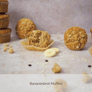 Saftige Bananenbrot Muffins