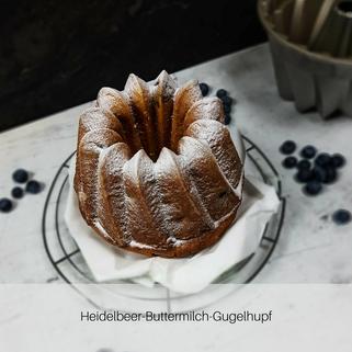 Heidelbeer-Buttermilch-Gugelhupf