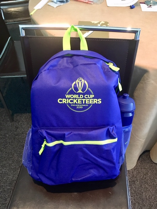 World Cup CRICKETEERS rucksack