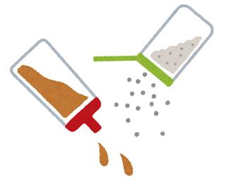 減塩の基本 調味料