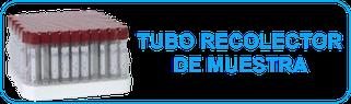 tubo recolector BMH muestra sangre rojo monterrey mexico tubo muestra economico