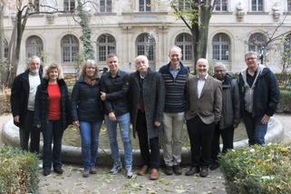 ECRO Board 2018 Paris - transfer of reign