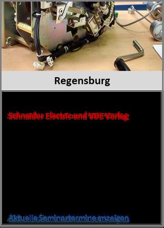 Schaltbefähigung zur Erteilung der Schaltberechtigung Regensburg