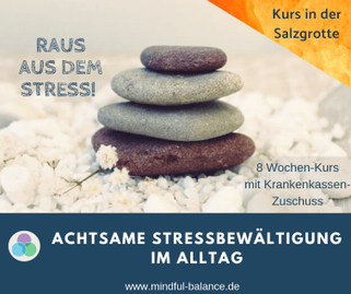 Präventionskurs Stressbewältigung, Achtsamkeit, Gesundheitskurs, Hagen, www.mindful-balance.de