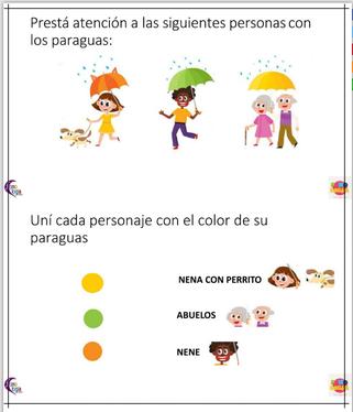 EJERCICIOS DE ATENCIÓN (Atención visual y memoria )